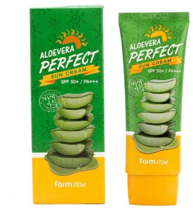 Farmstay Солнцезащитный крем для лица и тела