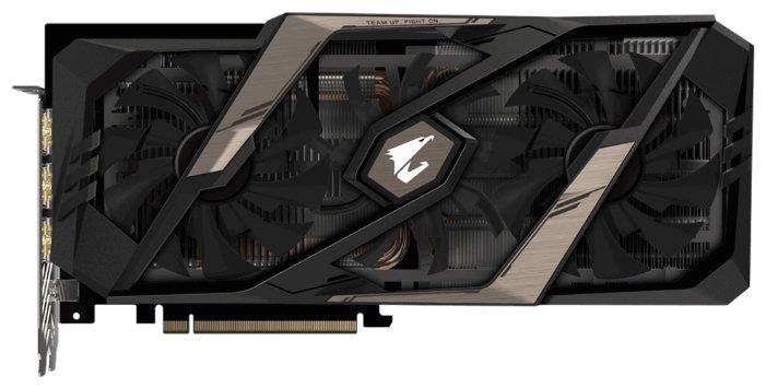 Видеокарта GIGABYTE GeForce RTX 2070 1770MHz PCI-E 3.0 8192MB 14000MHz 256 bit 3xHDMI HDCP AORUS