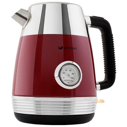 Чайник Kitfort KT-633-2, красный