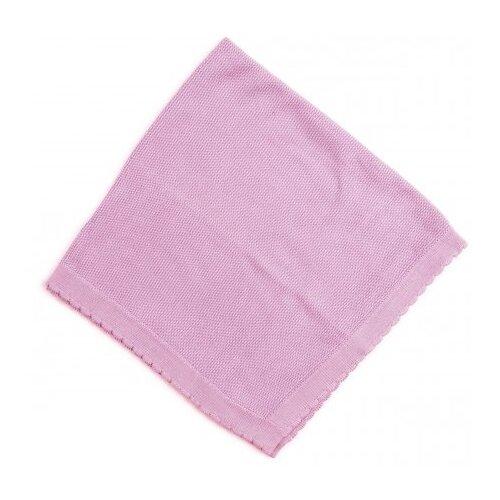 Купить Плед playToday для девочки Флоранс 70x70 см светло-розовый, Покрывала, подушки, одеяла