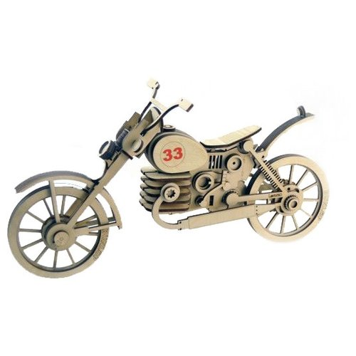 Сборная модель Lemmo Мотоцикл 33 (МЦ-1) конструктор lemmo мц 1 мотоцикл 33