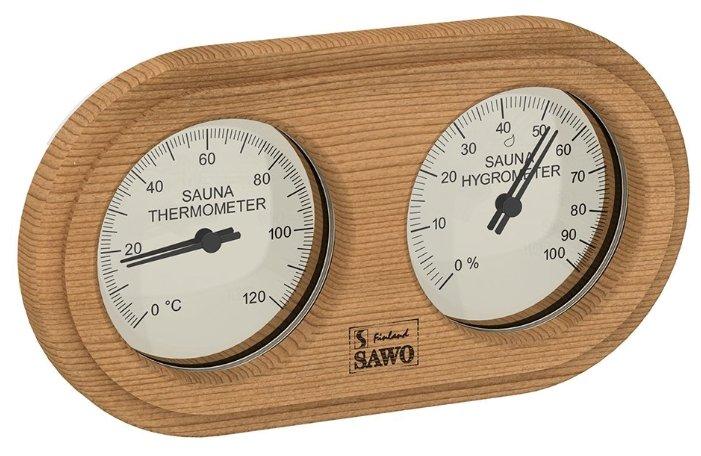 Термогигрометр SAWO 222-THD (Кедр (D), 140x225 мм)