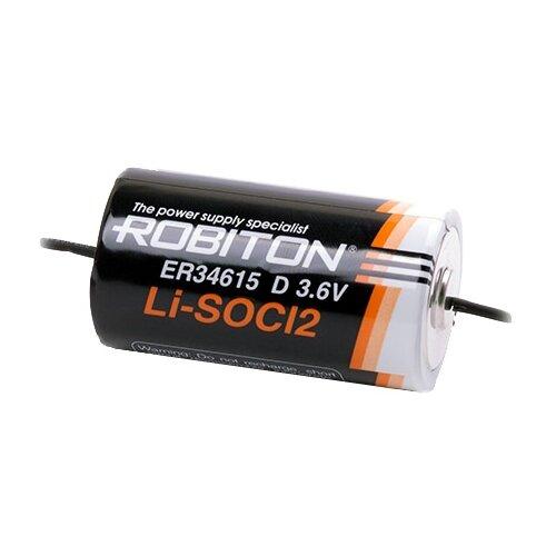 Фото - Батарейка ROBITON ER34615-AX с аксиальными выводами PH1, 1 шт. батарейка robiton er26500 dp с коннектором ph1 1 шт
