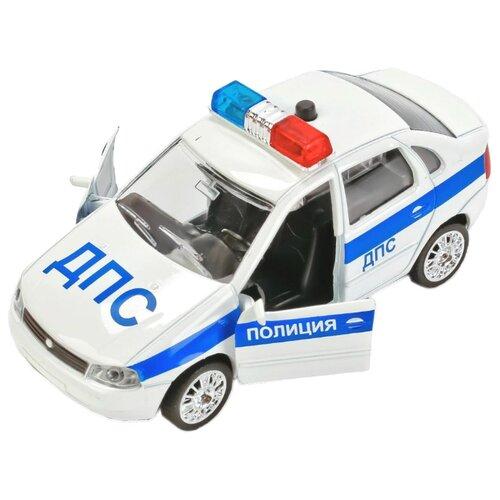 цена на Легковой автомобиль ТЕХНОПАРК Lada Kalina ДПС (CT-1049WB-10) 1:32 белый