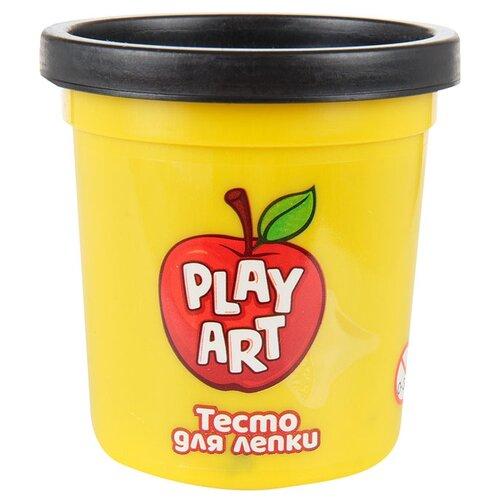 Масса для лепки Play Art 1 банка 85 г черный (PA-3167-BL) масса для лепки play art 1 банка 85 г оранжевый pa 3167 o