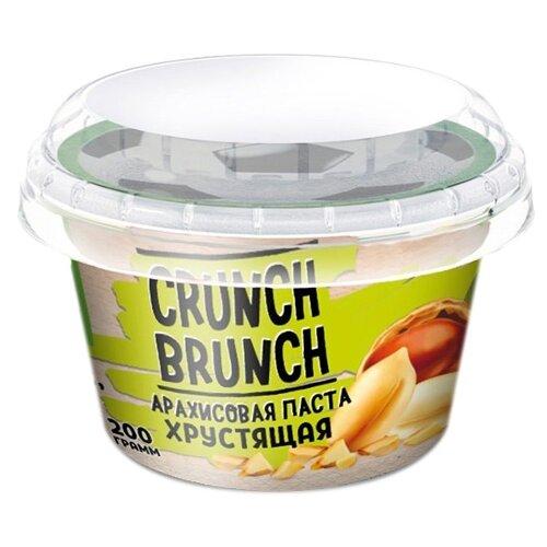 Crunch Brunch Арахисовая паста Хрустящая 200 г фото