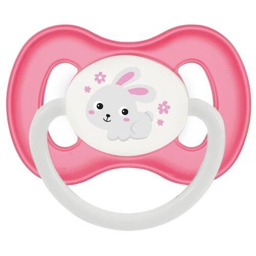 Купить Пустышка силиконовая анатомическая Canpol Babies Bunny & company 0-6 м (1 шт), Пустышки и аксессуары