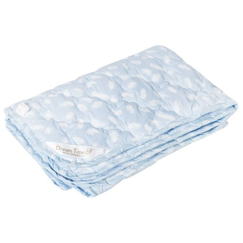 цена Одеяло DREAM TIME 48610 100x135 см голубой онлайн в 2017 году