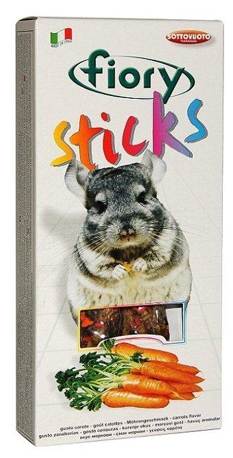 Лакомство для грызунов Fiory Sticks с морковью