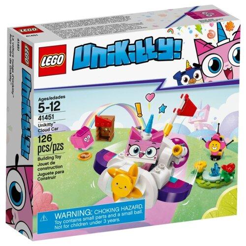 цена на Конструктор LEGO Unikitty 41451 Машина-облако