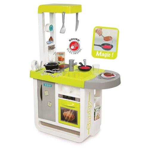 Купить Кухня Smoby Cherry 310900 желтый, Детские кухни и бытовая техника
