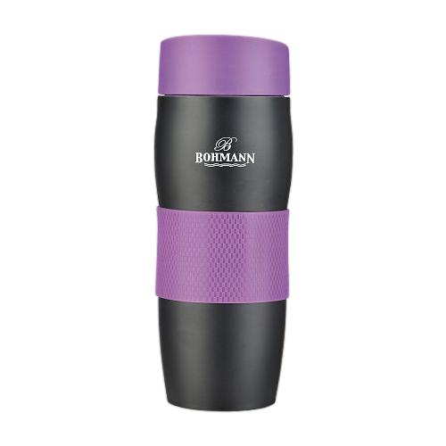 Термокружка Bohmann BH-4457, 0.375 л фиолетовый