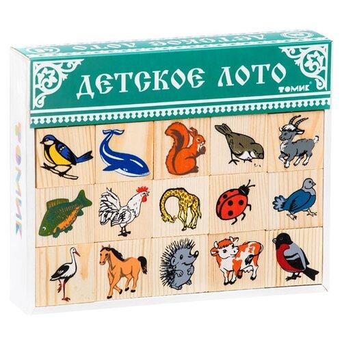 Настольная игра Томик Лото Животный мир настольная игра феникс лото животный мир 43055