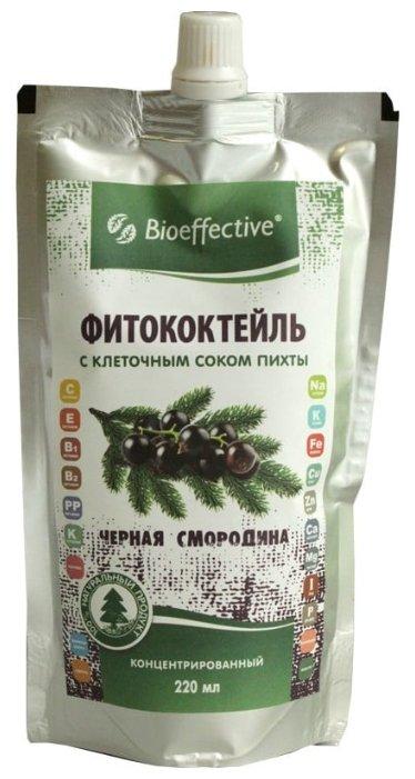 Bioeffective Фитококтейль черная смородина с клеточным соком пихты