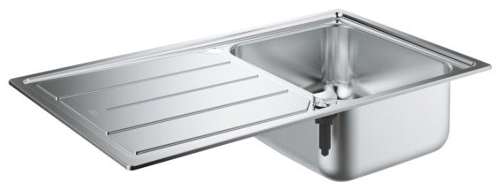 Врезная кухонная мойка Grohe K500 31571SD0 86х50см нержавеющая сталь