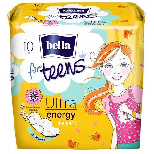 Bella прокладки for teens ultra energy deo fresh 10 шт. прокладки bella perfecta ultra violet deo fresh 10шт