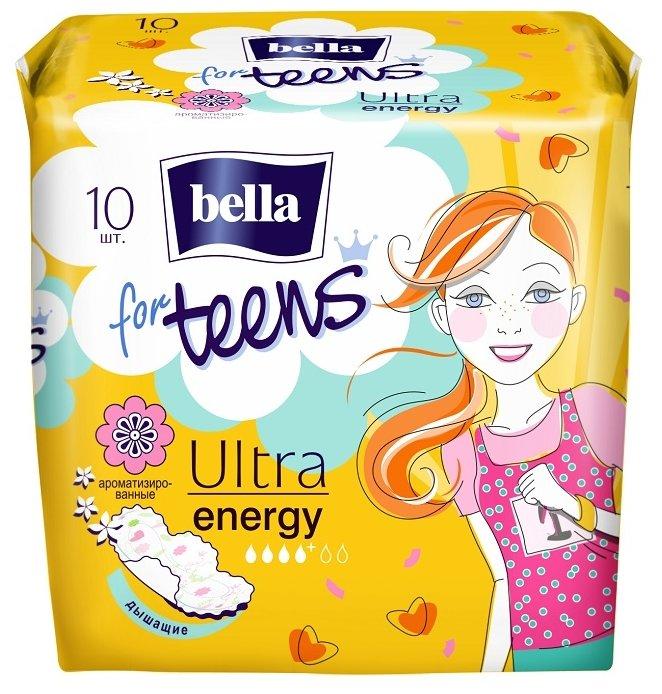Bella прокладки for teens ultra energy deo fresh