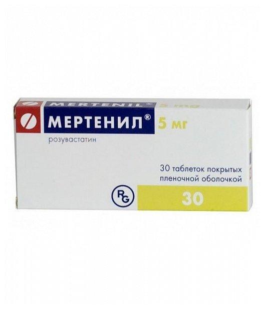 Мертенил таб.п/о плен. 5мг №30