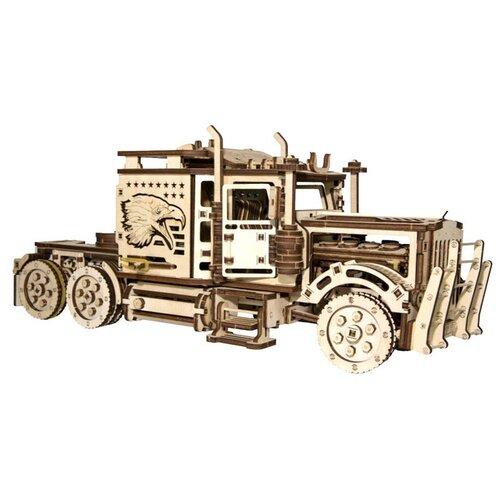 Купить Сборная модель Wood Trick Тягач Big Rig (1234-15), Сборные модели