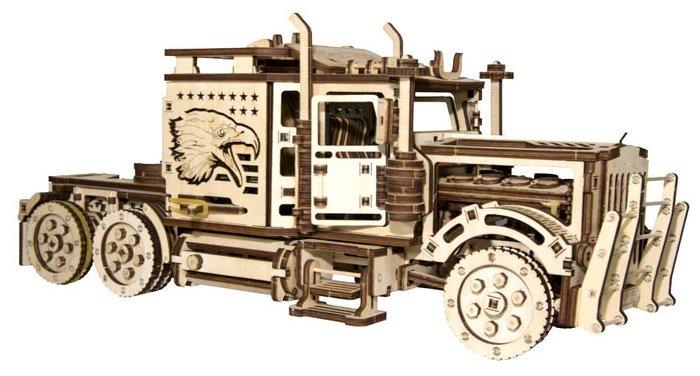 Сборная модель Wood Trick Тягач Big Rig (1234-15),,