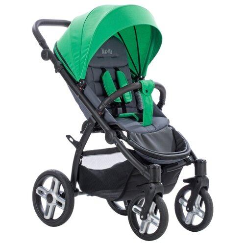 Прогулочная коляска Nuovita MODO Terreno verde/grigio