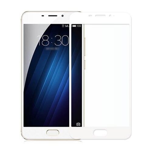 Защитное стекло CaseGuru для Meizu PRO 6 white защитное стекло caseguru для apple iphone 6 6s silver logo