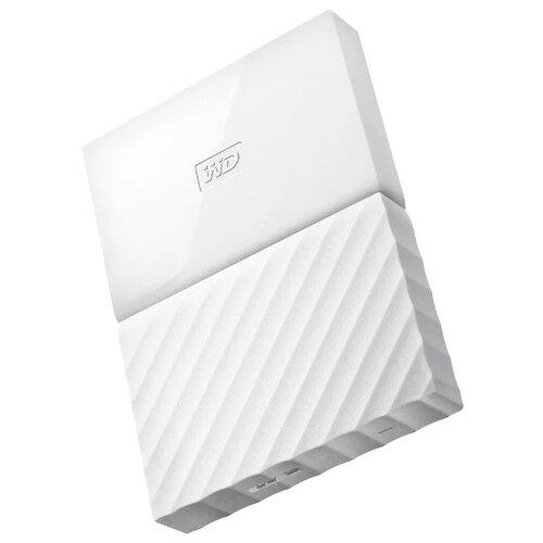 Внешний HDD Western Digital My Passport 4 ТБ белый