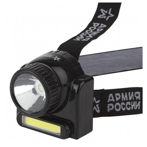 цена на Налобный фонарь ЭРА Армия России GA-501 Гранит черный