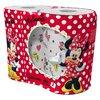 Полотенца бумажные World Cart Minnie Mouse белые с рисунком трёхслойные