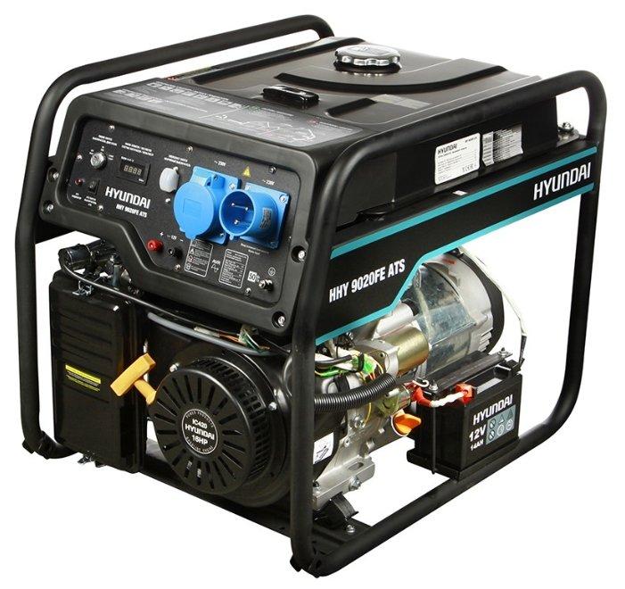 Бензиновый генератор Hyundai HHY 9020FE ATS (6000