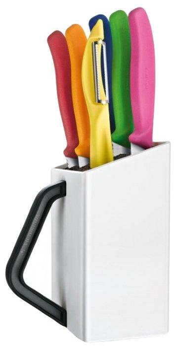 Набор кухонных ножей Victorinox 6.7127.6L14 ассорти