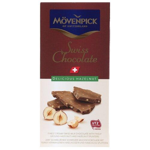 Шоколад Movenpick молочный с лесным орехом, 70 г