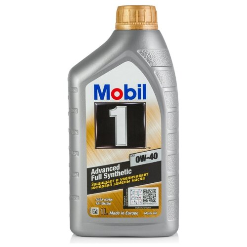 Моторное масло MOBIL 1 FS 0W-40 1 л