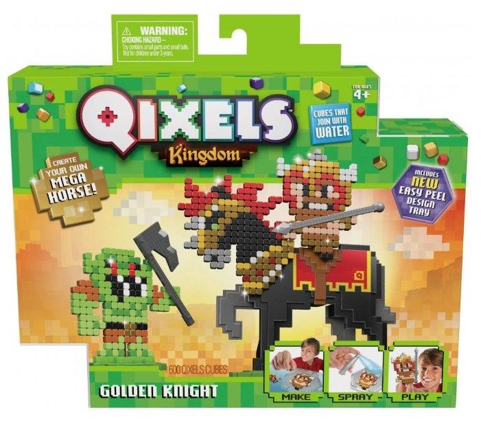 Qixels Аквамозаика Kingdom Золотой рыцарь (87130)