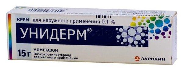 Унидерм крем д/нар. прим. 0,1% туба 15г