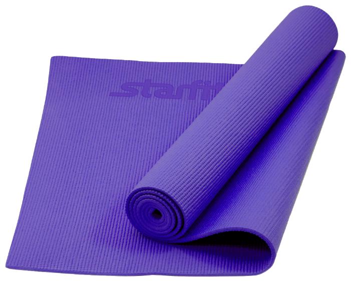 Коврик для йоги STARFIT FM-101 PVC 173x61x0.3 см, синий