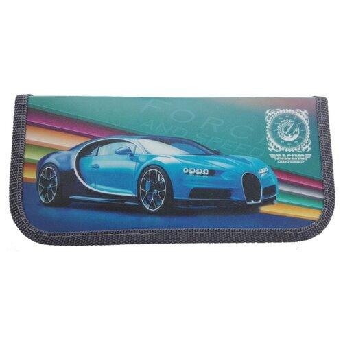 Купить Prof-Press Пенал Мощное голубое авто (ПН-2234) голубой, Пеналы