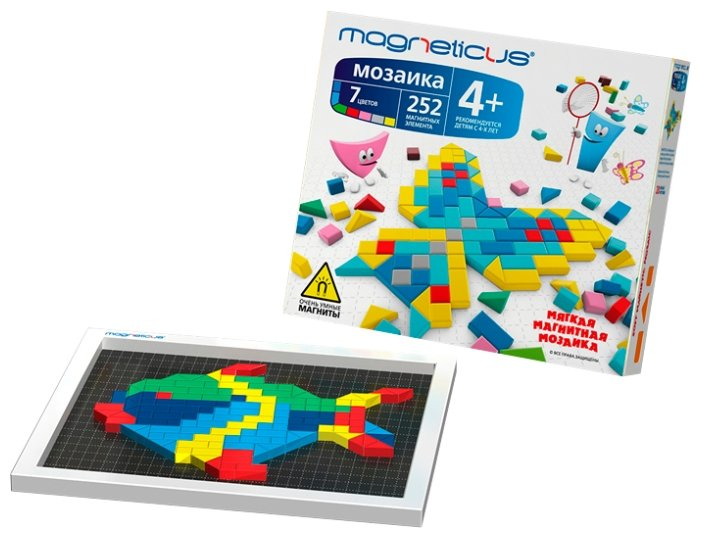 Magneticus Магнитная мозаика 252 элемента (MM-250)
