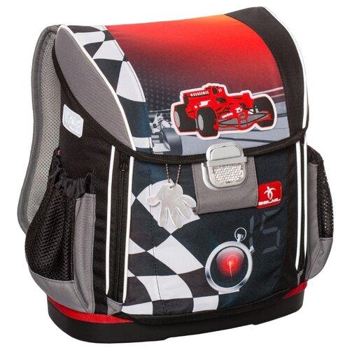 Купить Belmil Ранец Customize-Me Crazy Race (404-20/453), черный/серый/красный, Рюкзаки, ранцы