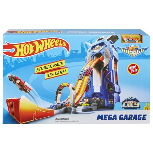 Трек Hot Wheels City Mega