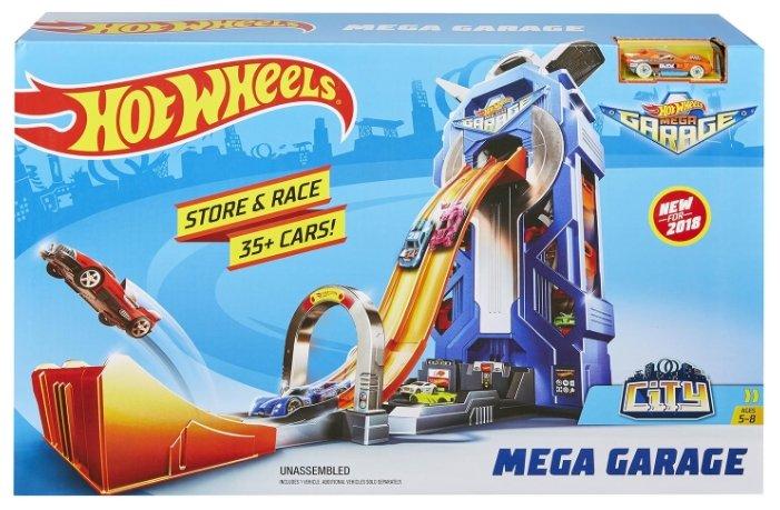 Трек Hot Wheels City Mega Garage FTB68 — купить по выгодной цене на Яндекс.Маркете