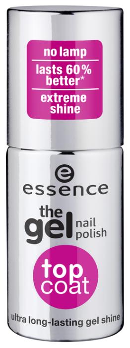Верхнее покрытие Essence The Gel Nail Polish Top Coat 8 мл