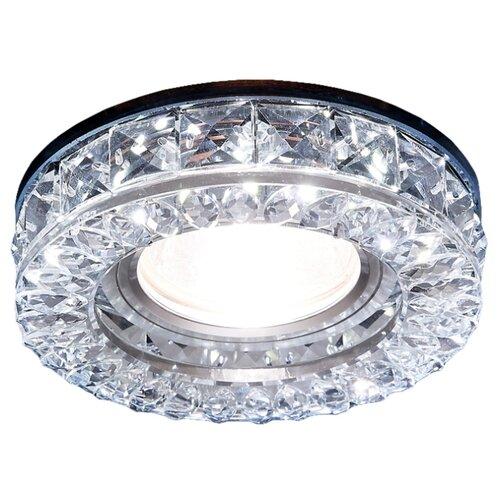 Встраиваемый светильник Ambrella light S241 CH, хром/прозрачныйВстраиваемые светильники<br>