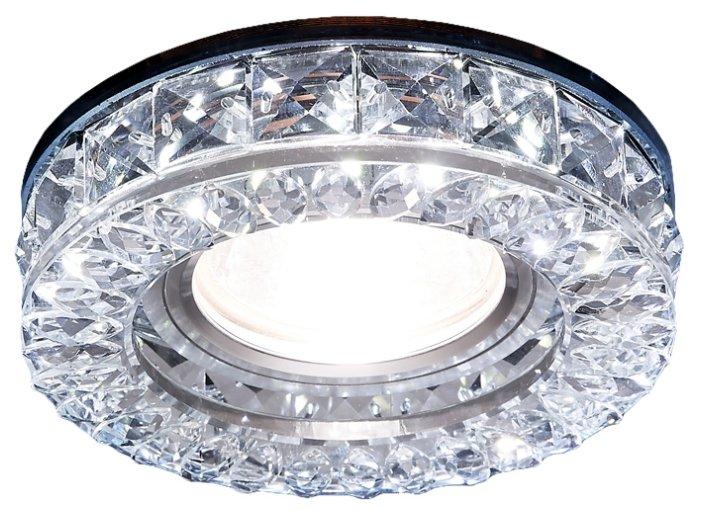 Встраиваемый светильник Ambrella light S241 CH, хром/прозрачный
