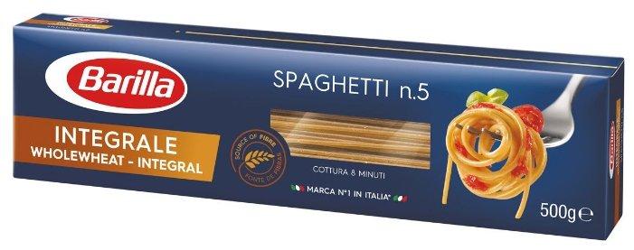 Barilla Макароны Integrale Spaghetti n.5 цельнозерновые, 500 г
