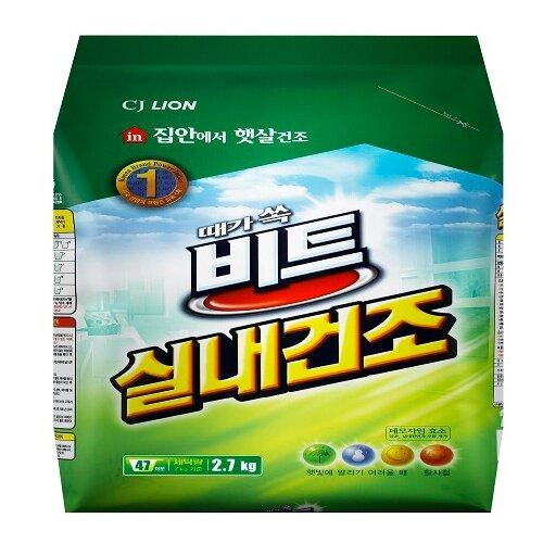 Стиральный порошок Lion Beat In Door, пластиковый пакет, 2.7 кг стиральный порошок lion beat econo max пластиковый пакет 10 кг