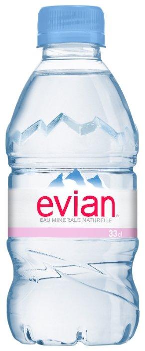 Вода минеральная Evian негазированная, ПЭТ