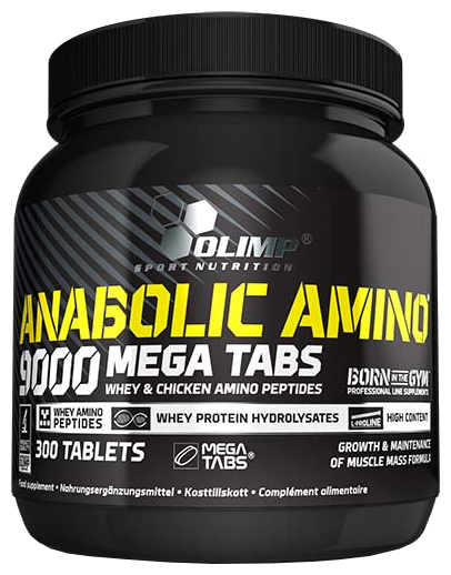 Аминокислотный комплекс Olimp Anabolic Amino 9000 (300 таблеток)