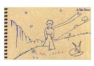 Альбом для зарисовок Канц-Эксмо Маленький принц 21.5 х 13 см, 110 г/м², 50 л.