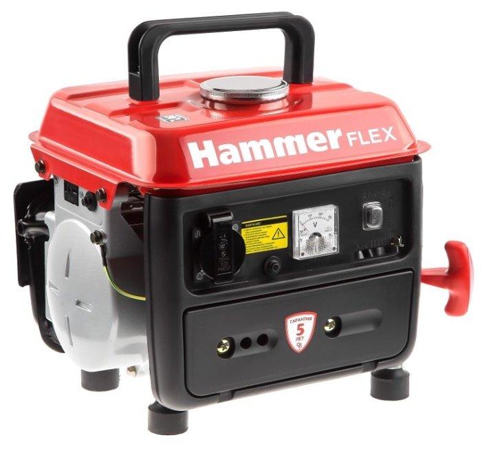 Бензиновый генератор Hammer Gn800 (800 Вт)